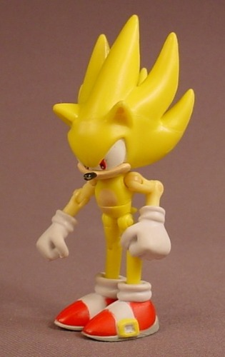 Sonic The Hedgehog Figure With Multiple Articulation Points 3 7 8 Inches Tall Rons Rescued Treasures