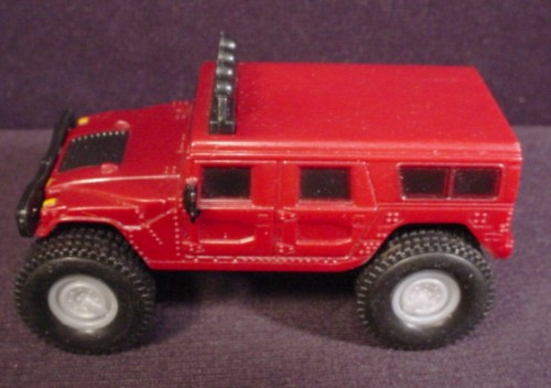 Mcdonalds 2006 Red Humvee Hummer With Friction Motor