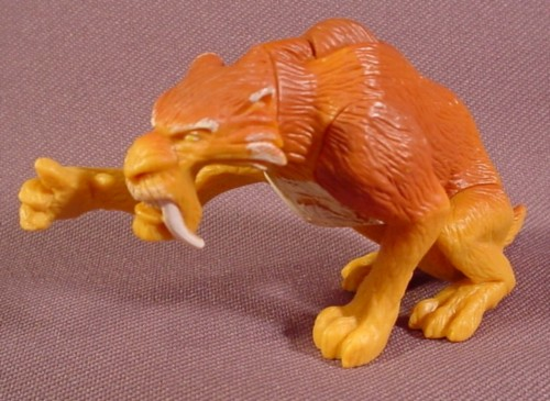 Toys From Ice Age 1 : Ice age diego the sabertooth tiger pvc figure quot tall
