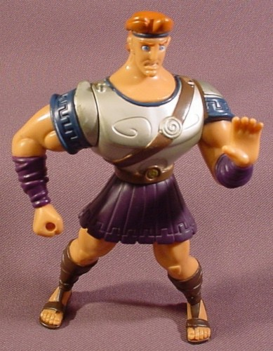 Toys For Legs : Hercules disney action figure quot tall silver armor