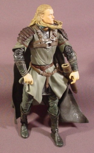 """Lord Of The Rings Legolas Action Figure, 7"""" Tall, 2002 ..."""