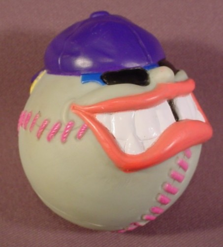 Pizza Hut Toys : Pizza hut crazy face baseball toy quot tall rons