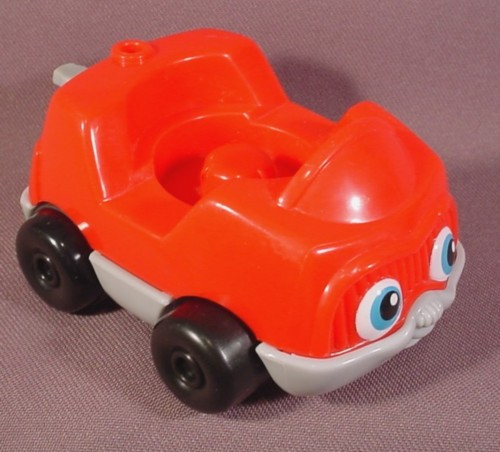 Fisher Price Little People 2001 Red Single Seat Car With