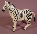 "Fisher Price Adventure People Series 1975 Zebra Animal Figure, 4"" Tall, 304 Wild Animal Safari"