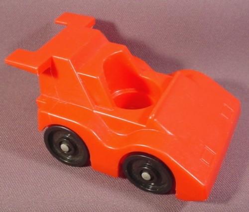 Fisher Price Vintage Red Race Car, 347 Indy Racer Set, 396