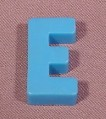 "Fisher Price Magnetic Letter Blue ""E"", #176 School Days Desk"