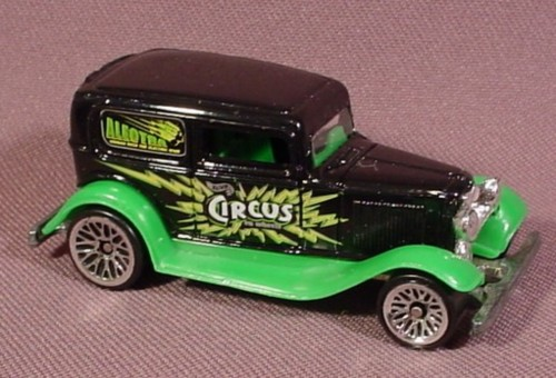 Hot Wheels '32 Ford Delivery, 2000 Circus On Wheels Series, 1:64