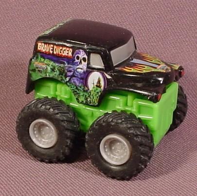 Grave digger monster truck mohawk warrior monster jam rev tredz truck