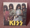 "Pinback Button 1 1/2"" Square, Kiss, Hard Rock, Heavy Metal, Music"