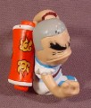 Tech Deck Dude Fu Man Finger #032, 6 Pack Set, 2005 X-Concepts, (Scratch On Head)