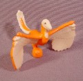 Fisher Price Imaginext Orange & Tan Prehistoric Bird Or Flying Dinosaur Animal Figure