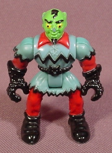 Fisher Price Imaginext Goblin Figure, Green Face, 2 Inches Tall, 78331 Wizard's Tower, 78357