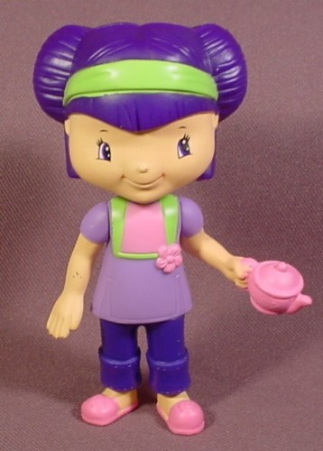 Strawberry Shortcake Tea Blossom Doll Figure, 3 3/4 Inches ...