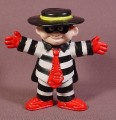 "Mcdonalds 1995 Hamburglar PVC Figure, 3"" Tall"