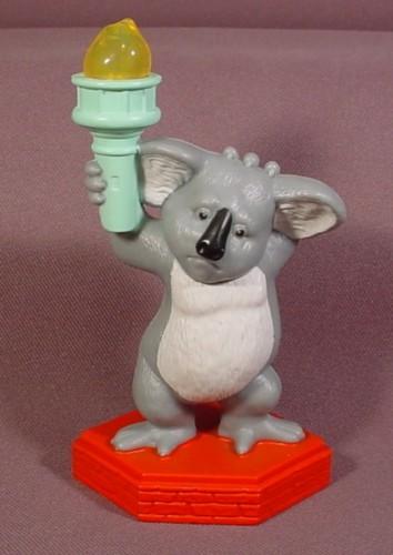 The Wild Toys : Mcdonalds the wild nigel koala figure toy his torch