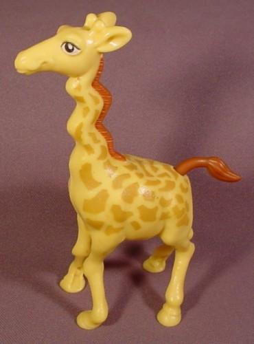 The Wild Toys : The wild bridget giraffe figure toy wind up her tail
