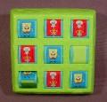 Burger King 2006 Spongebob Squarepants Tick Tac Toe Toy, 3 3/4