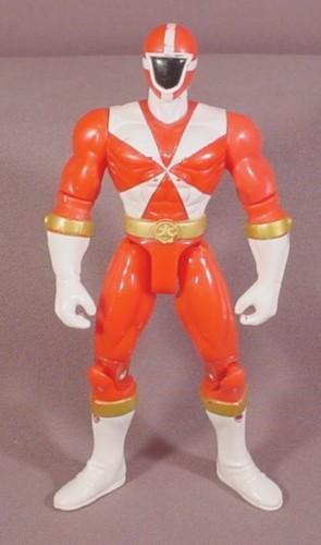 Power Rangers Red Lightspeed Rescue Ranger Action Figure ...