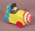 Batman Penguin Umbrella Roto-Roadster Car, 3 Inches Long, The Front Of Car Spins As It Rolls, 1991