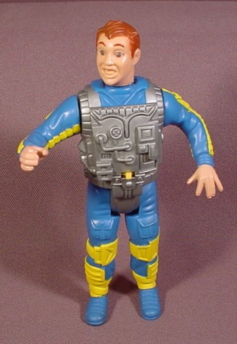 """Real Ghostbusters Ray Stantz Screaming Heroes Action Figure, 4 3/4"""" Tall, 1986 Kenner"""