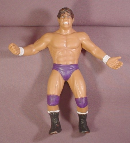 "Vintage Tito Santana El Matador Wwe Wwf Wrestling Action Figure, 8"" Tall, 1986 LJN Ltd"
