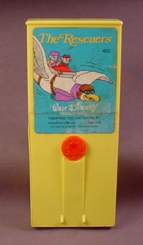 Fisher Price Vintage Movie Viewer Cartridge #462 Disney Rescuers Albatross Airlines - RONS ...