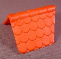 Playmobil Red Orange Tile Shingle Dormer Roof, 3440 3448 3450 3556 3666 4300 7109