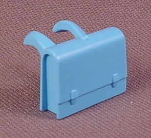 Playmobil light blue back pack or knapsack backpack for Playmobil kinderzimmer 4287