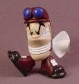 Tech Deck Dude Ace, #061, Dudes Crew 6, 2001 X-Concepts, Blue Goggles & White Scarf