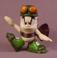 Tech Deck Dude Ace, #061, Orange Goggles Color Variation, 2001 X-Concepts, No Arms