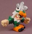 Tech Deck Dude Cluckers, #099, Zoods Crew, Orange & Green Color Variation, 2004
