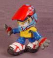 Tech Deck Dude Moto, #090, Blue Red & Yellow Color Variation, 2004 X-Concepts, Dudes