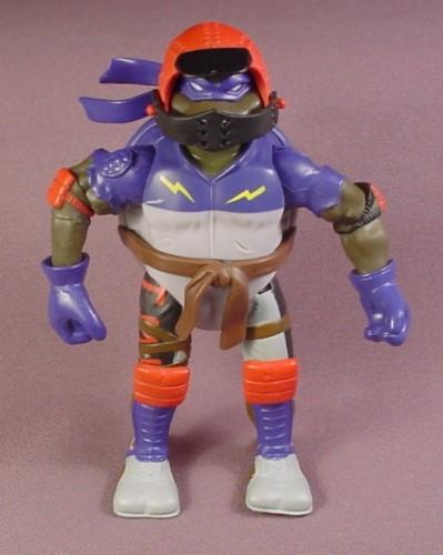 Tmnt Biker Don Action Figure, 2003 Playmates, Turtle Games Series, Ninja Turtles