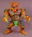 Tmnt Rahzor Action Figure, 1992 Playmates, Teenage Mutant Ninja Turtles, Black Nose