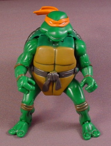 Teenage Mutant Ninja Turtles 2003 Toys : Tmnt mutatin mike action figure playmates teenage