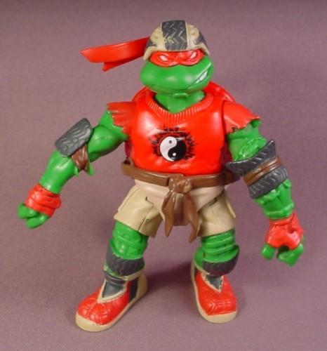 Teenage Mutant Ninja Turtles 2003 Toys : Tmnt skatin raph action figure playmates extreme