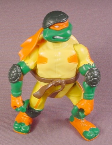 Teenage Mutant Ninja Turtles 2003 Toys : Tmnt thrashin mike action figure playmates extreme