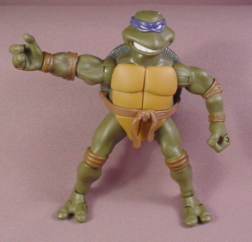 Teenage Mutant Ninja Turtles 2003 Toys : Tmnt modern donatello action figure playmates