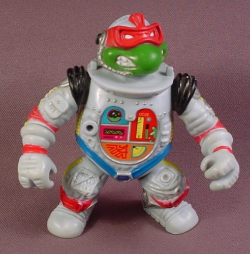 Tmnt Raph The Space Cadet Action Figure, 1990 Playmates, Ninja Turtles