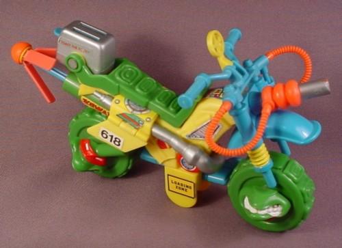 Tmnt Muta-Bike Vehicle, 1992 Playmates, Teenage Mutant Ninja Turtles