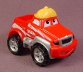 Tonka Lil Chuck Red Pickup Truck With Yellow Hat, 2000 Maisto Hasbro