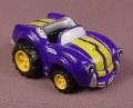 Tonka Lil Chuck Purple & Yellow Sports Car, 2003 Maisto Hasbro