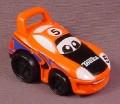 Tonka Lil Chuck Orange & Black Race Car, 2003 Maisto Hasbro
