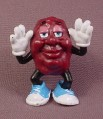 California Raisins PVC Figure, With Thumbs In His Ears, 2