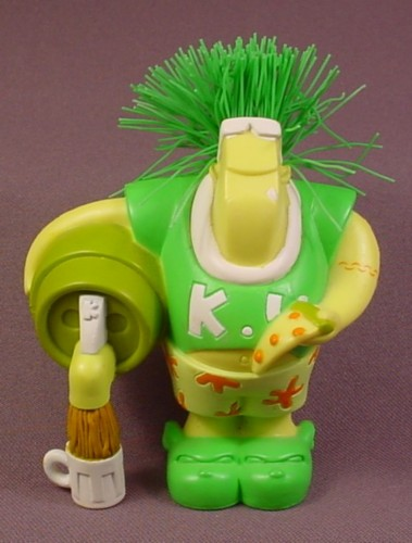 "Koosh Ball Kyle The Kappa PVC Figure, 4 1/2"" Tall, 2004 Hasbro"