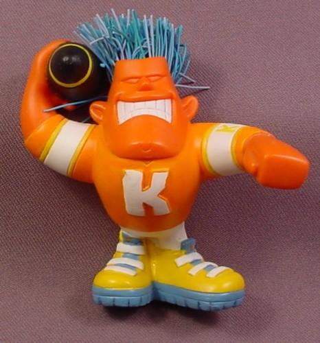 """Koosh Ball Karsen The Quarterback PVC Figure, 3 1/2"""" Tall, 2004 Hasbro"""