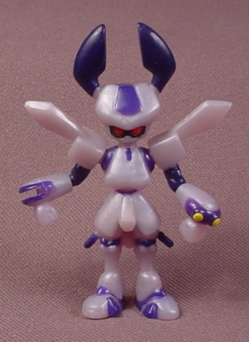 Medabots Rokusho Figure, 2 3/4 Inches Tall, Hasbro Takara, Does Not Have The Yellow Sword Accessory