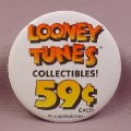 "Pinback Button 3 1/2"" Round, Mcdonalds, Looney Tunes Collectibles"