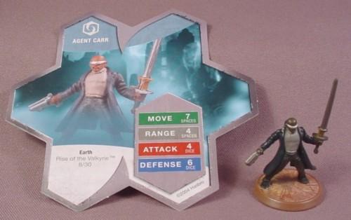 Agent Carr Heroscape Agent Carr Figure