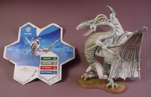 """Heroscape Mimring Figure, 6"""" Tall, Hasbro, Rise Of The Valkyrie ..."""